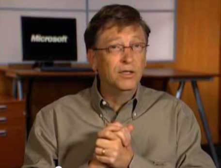 Bill Gates nyilatkozik