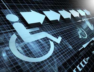 Illusztráció: a fogyatékkal élők segítése