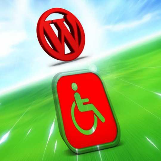 A WordPress száguld az akadálymentesség felé