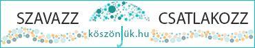 Szavazz! Csatlakozz. köszönjük.hu banner. Az akadálymentesített weboldalak referenciája.