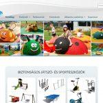 Evin Tech Kft weboldalának és webshopjának kezdőlapja